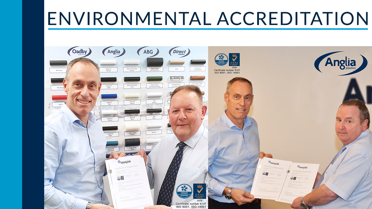 Sister companies achieve environmental accreditation!